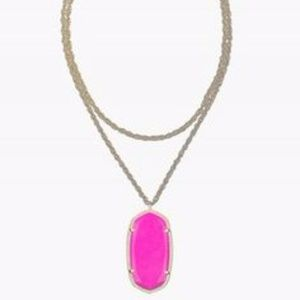 Kendra Scott Rae Necklace (Magenta)